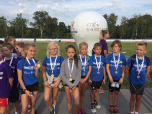 Złoto, srebro, brąz! Fantastyczny występ naszych młodych lekkoatletek w ogólnopolskim finale Nestlé Cup. Kolejna Wielka promocja Klubu, Miasta i Gminy