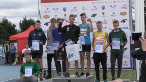 Medal był o krok…zabrakło jednego centymetra! Jakub Robotnikowski na czwartym miejscu w skoku w dal podczas Mistrzostw Polski U16