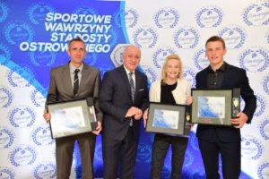 Sportowe Wawrzyny Ostrowskiego Starosty – po raz pierwszy w historii – trzy z nich dla jednego klubu – lekkoatletów Stali LA w Ostrowie Wlkp.