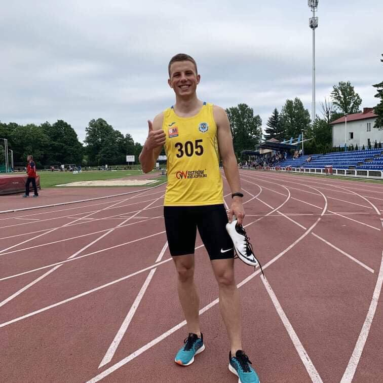 Patryk Wykrota z podwójnym minimum na Mistrzostwa Europy U20 zarówno w biegu na 100m jak i 200m!! Nowy rekord Ostrowa na 200m 21.15s!!