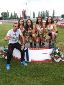 Fantastyczne dziewczyny ze Stali LA Ostrów Wielkopolski złotymi medalistkami Mistrzostw Polski U16 w sztafecie 4×100 !!! Chłopacy podczas tej samej imprezy z brązowymi medalami!!!