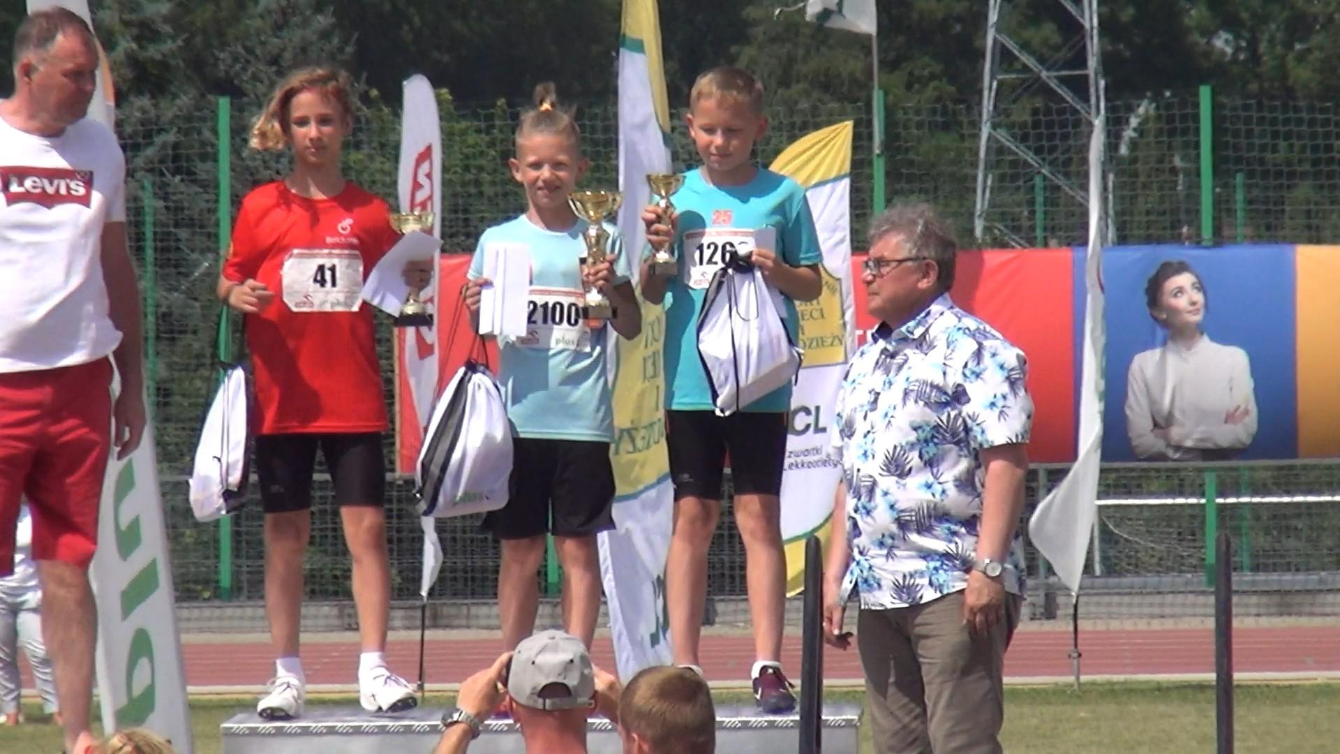 Trzy medale ostrowskich lekkoatletów w Finale Ogólnopolskim Czwartków Lekkoatletycznych rozegranym w Łodzi
