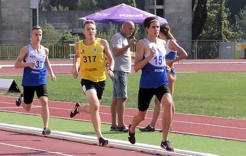 Dawid Borowski z rekordem życiowym na 800 m. – 1.54,57 s.