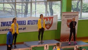 15 medali lekkoatletów STALI LA w Halowych Mistrzostwach Wielkopolski U16