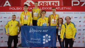 Lekkoatleci Stali LA Ostrów Wielkopolski z czterema medalami w Halowych Mistrzostwach Polski Juniorów U18 i U20 – trwa świetna passa mistrzostw kraju
