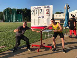 Rewelacyjny start ostrowskich lekkoatletów na mitingu kwalifikacyjnym w Łodzi!